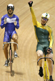 Bulges all round at the cycling